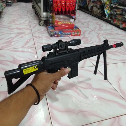 Foto Produk Mainan Tembakan Spring Cobra M2008 (SMG Mini) dari Bang izal Toys