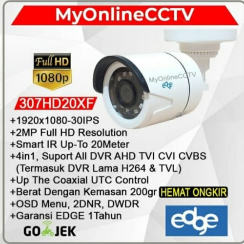 Foto Produk Kamera CCTV Outdoor AHD Asli 2 MP Camera 1080P dari myonlinecctv