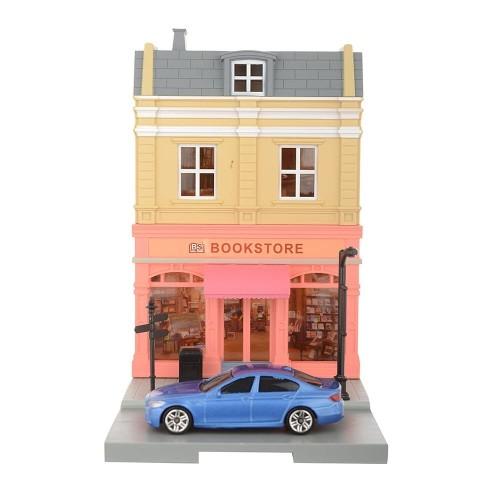 Foto Produk RMZ City Diorama Book Store Skala 1:64 dari Herokids