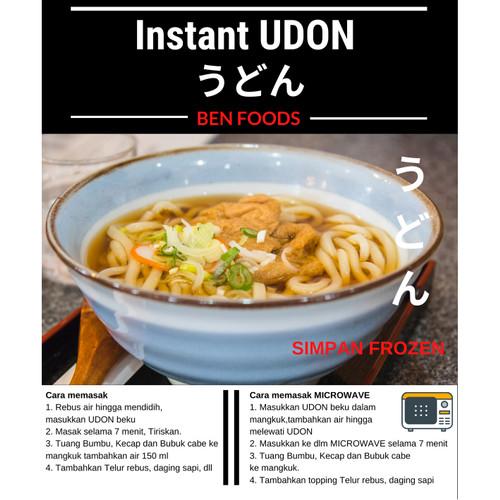 Foto Produk UDON Instant Lengkap dg Bumbu Udon dari Burung Layang Terbang