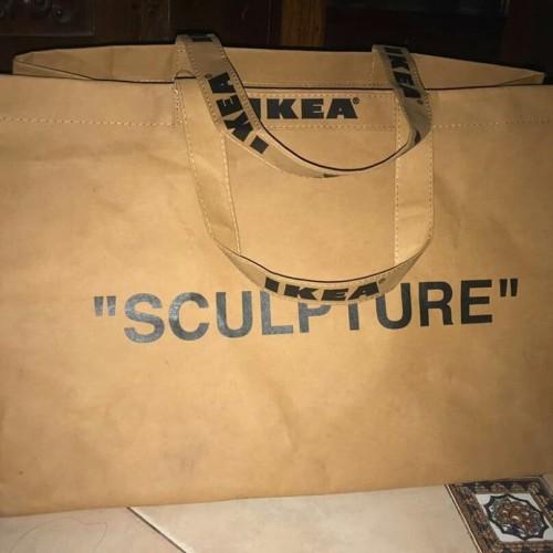 Foto Produk IKEA x Virgil Abloh MARKERAD bag dari Hyperival