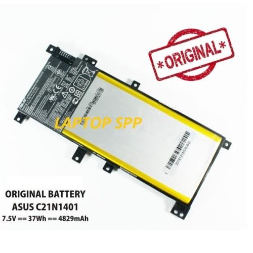 Foto Produk Baterai Ori ASUS X455 X455L X455LA A455L A455LD A455LN F455L C21N1401 dari LAPTOP SPAREPART