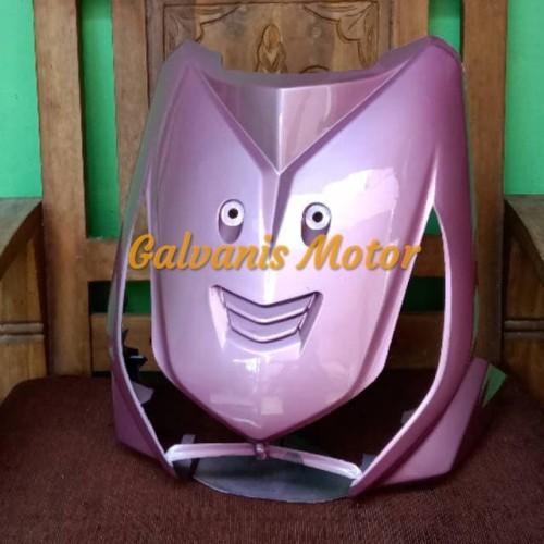Foto Produk Tameng Depan Beat Karbu Warna Pink dari galvanismotor