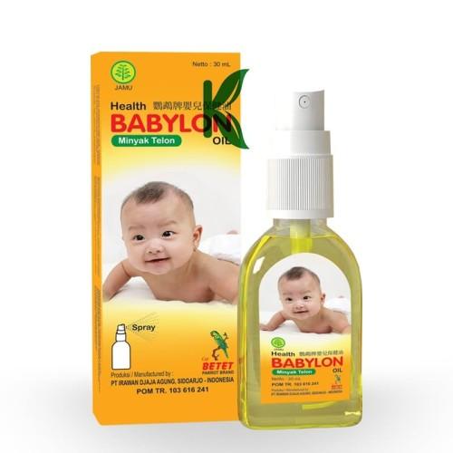 Foto Produk Minyak Telon Babylon Oil 30 ml Spray dari Kanaostore
