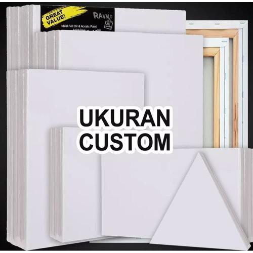 Foto Produk Kanvas Lukis Ukuran Custom (Ukuran Anda) dari MelukisCom