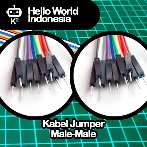 Foto Produk Kabel Jumper 20cm Male-Male dari Hello World Indonesia