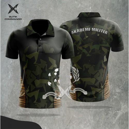 "Foto Produk Polo Dri-Fit ""Hexagon Akmil"" - S dari Butik Commando"