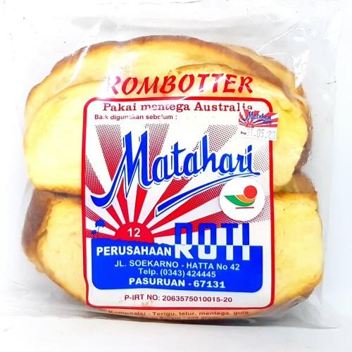 Foto Produk MATAHARI ROTI SISIR ROMBOTTER 400gr   RUMBUTTER ROM BUTTER RHOMBUTTER dari TOKO MITRA SIDOARJO