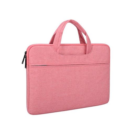 Foto Produk Tas Laptop Softcase Macbook Nylon Jinjing 13 inch - Abu - Merah Muda dari gudanggadget14