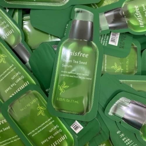 Foto Produk INNISFREE GREEN TEA SEED SERUM 1mL SAMPLE ORIGINAL KOREA dari Bursa Cosmetik Murah