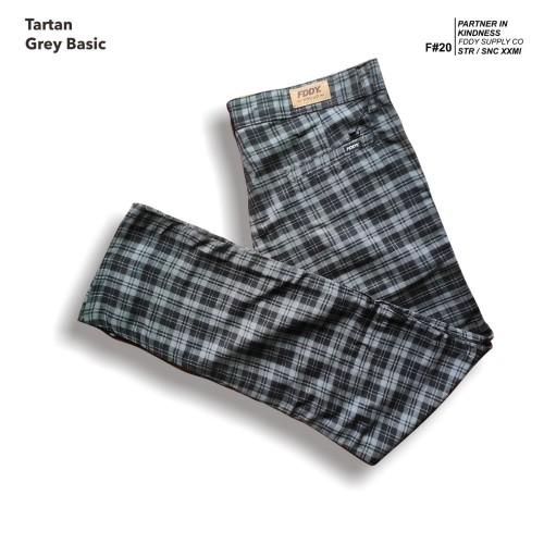 Foto Produk fruddy duddy - fddy - tartan - pants - grey basic - S dari Fruddy Duddy
