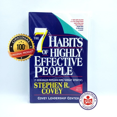 Foto Produk The 7 Habits Of Highly Effective People - Stephen R. Covey dari Social Agency Baru