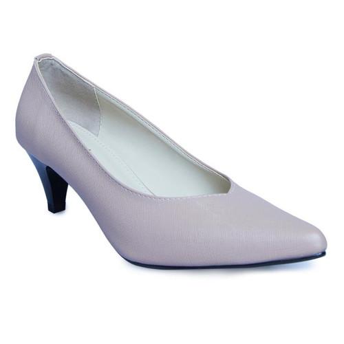 Foto Produk PVN Sepatu Pantofel Wanita Hitam Heels Shoes 160 - pink, 37 dari PVN Official Store