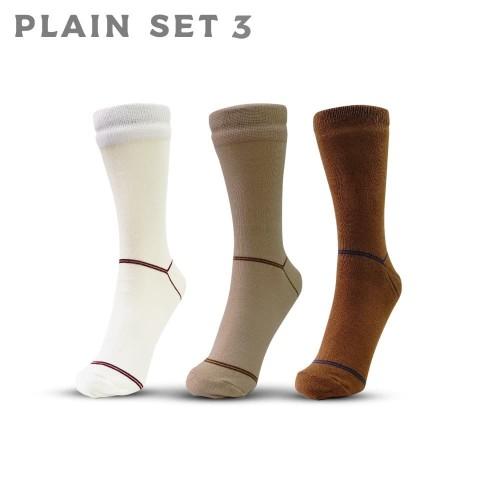 Foto Produk Plain Set 3 - Kaos Kaki AGF dari A Good Foot