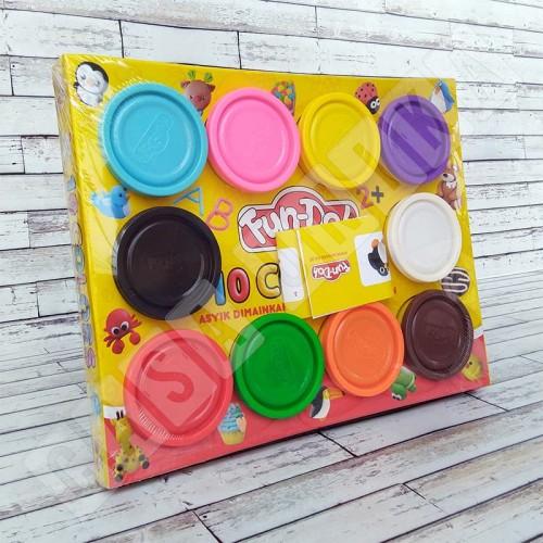 Foto Produk Fun Doh Refill 10 Dough Lilin Mainan Anak FunDoh / PlayDoh / Play Doh dari Casa Unika