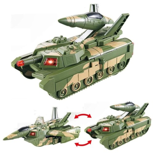 Foto Produk MAINAN MOBIL ROBOT COMBAT WAR TANK DEFORMATION MILITARY WAR TANK BESAR dari EAZYTOYS