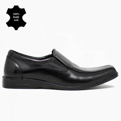 Foto Produk Sepatu Pantofel Kerja Kantor Formal Pria Kulit Asli Terlaris - 40 dari Sepatu Kulit Asli CBDYT