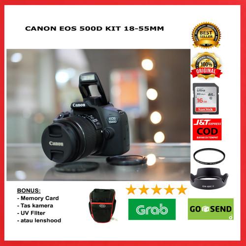 Foto Produk Canon 1500d kit 18-55mm WIFI Canon eos 1500d kit 18-55mm WIFI dari SAKURA CAMERA