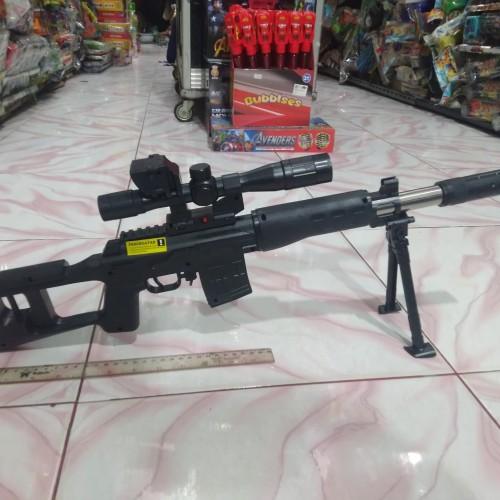 Foto Produk Mainan Airsoftgun Sniper Rifle Cobra dari Bang izal Toys