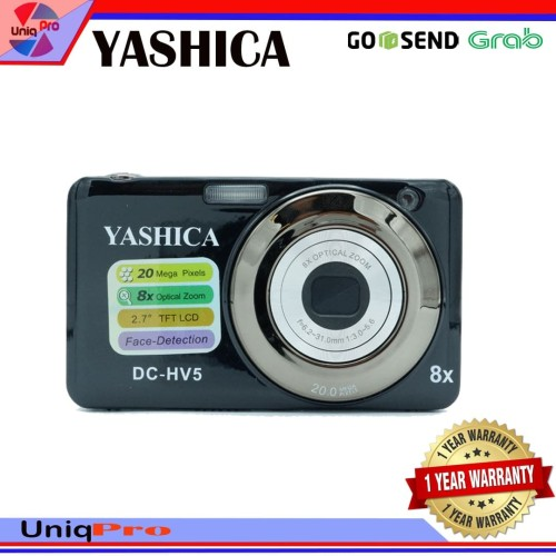 Foto Produk Yashica DC-HV888 Digital Kamera Pocket Instan 20MP dari UniqPro