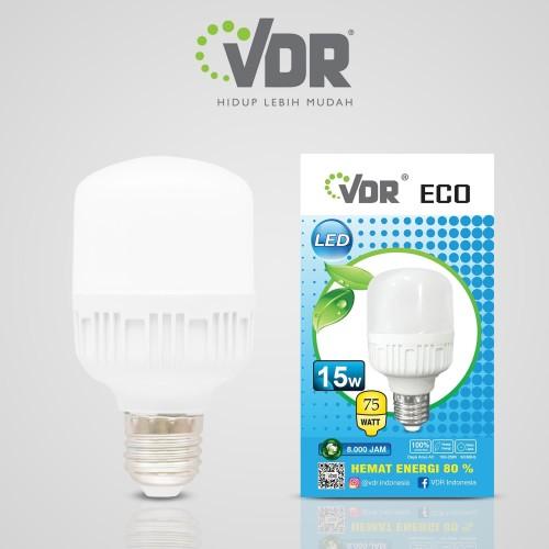 Foto Produk VDR ECO Bright - LED Kapsul - 15 watt - Putih dari VDR Official