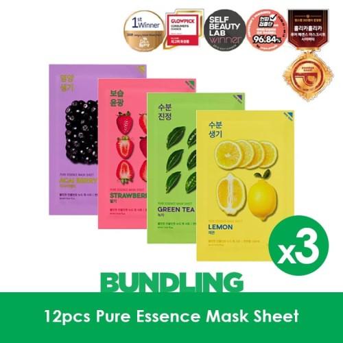 Foto Produk 12pcs Holika Holika Pure Essence Mask Sheet dari Holika Holika Indonesia