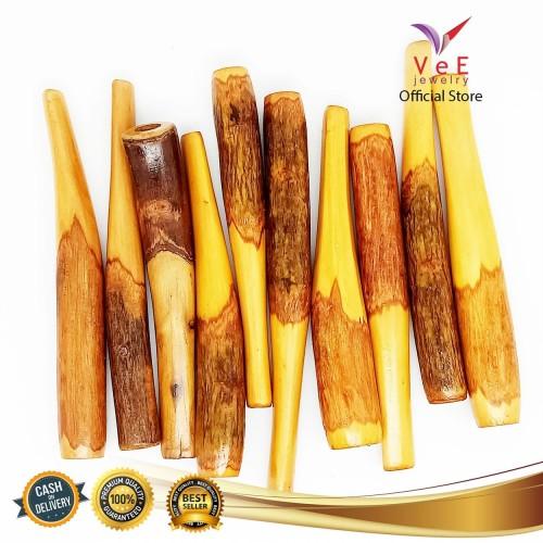 Foto Produk Pipa Rokok Cangklong Kayu Kemuning Tanduk Rusa- VeE Pipa Rokok Kayu dari Vee Jewelry