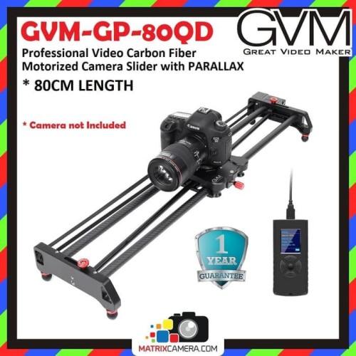 Foto Produk GVM GP-80QD Professional Video Carbon Motorized Camera Parallax Slider dari MatrixCamera