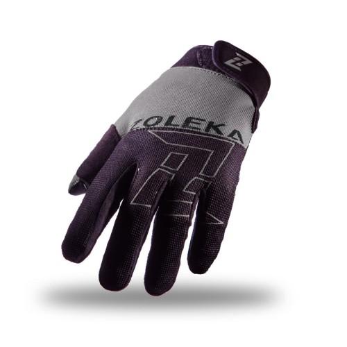 Foto Produk ZOLEKA Aksa Sarung Tangan Motor Full Finger Unisex - Black Grey - M dari ZOLEKA