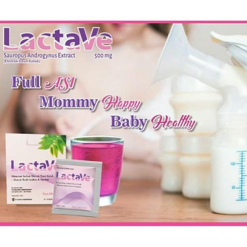 Foto Produk Lactave/ Minuman Pelancar ASI - Extract Katuk Rasa Mix Fruit dari B'gen Official Store