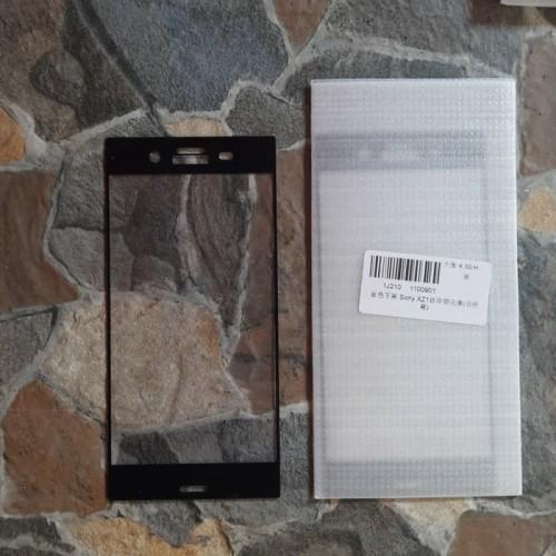Foto Produk Tempered Glass Sony Xperia XZ1 Full 2.5D warna list hitam dari AZ Store 91