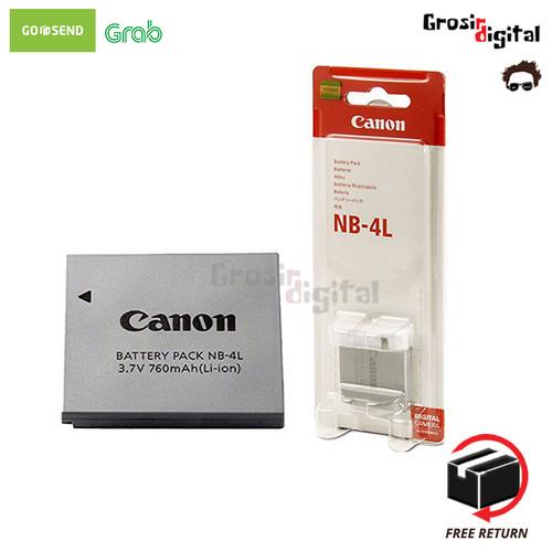 Foto Produk Battery/baterai/batre Canon NB-4L dari Grosir Digital