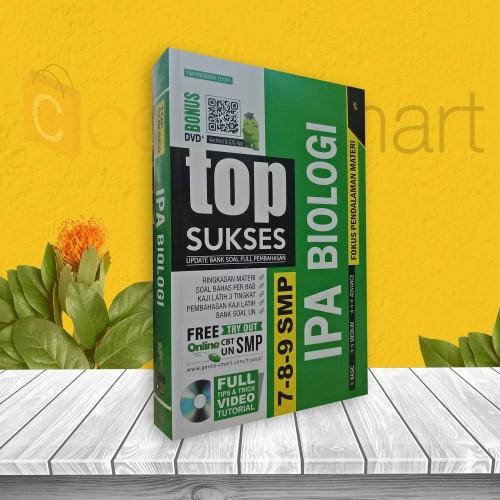 Foto Produk TOP SUKSES UPDATE BANK SOAL PEMBAHASAN BIOLOGI SMP 7. 8. 9 dari cerdas media