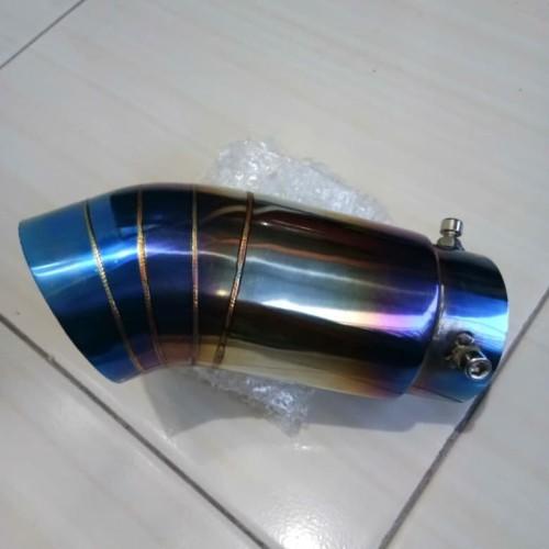 Foto Produk tail pipe innova diesel fortuner pucuk knalpot dari bintangbaru800