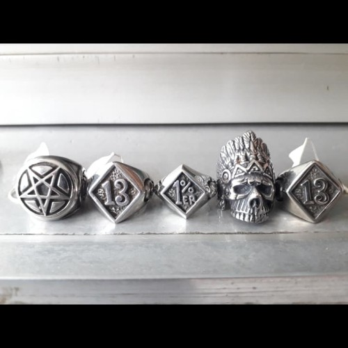 Foto Produk new stainless steel 316L skull ring ex display 3 dari tokonline jakarta