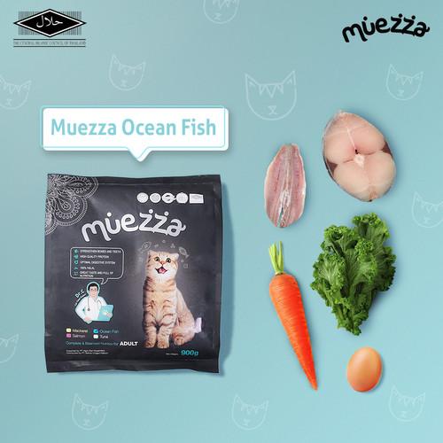Foto Produk Makanan Kucing Kering - Ocean Fish Flavor - Muezza Cat Food dari Muezza Feed