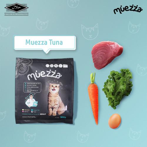 Foto Produk Makanan Kucing Kering - Tuna Flavor - Muezza Cat food dari Muezza Feed