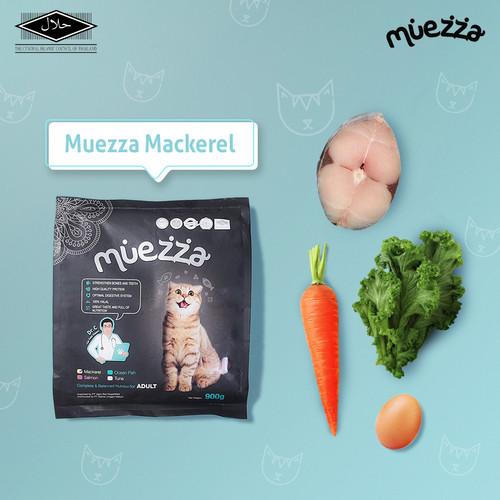 Foto Produk Makanan Kucing Kering - Mackerel Flavor - Muezza Cat Food dari Muezza Feed