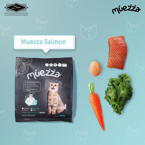 Foto Produk Makanan Kucing Kering - Salmon Flavor - Muezza Cat Food dari Muezza Feed