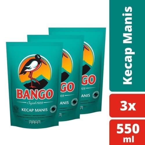 Foto Produk Bango Kecap Manis 550Ml - Multipack dari Unilever F&B Official