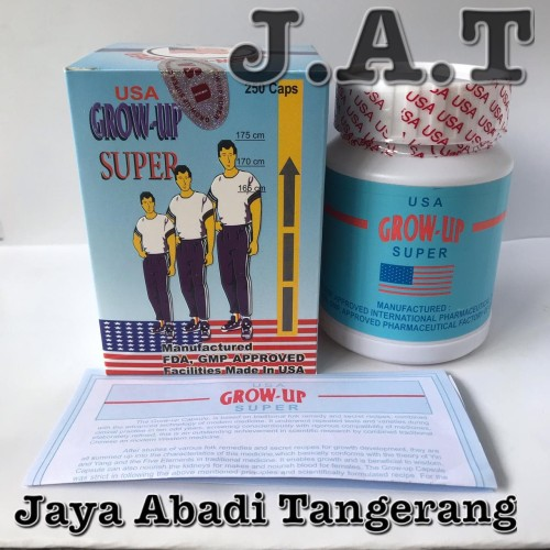 Foto Produk ORIGINAL USA GROW UP SUPER PENAMBAH TINGGI BADAN dari Jaya abadi Tangerang