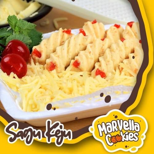 Foto Produk Kue Kering Khas Bandung/Marvella Cookies|Premium Sagu Keju 500 gr dari Kreasi Peci