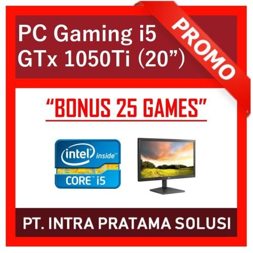 "Foto Produk PC Core i5-3470 + RAM 8GB + HDD 1TB + GTx 1050Ti 4GB + LED 20"" dari PT. Intra Pratama Solusi"