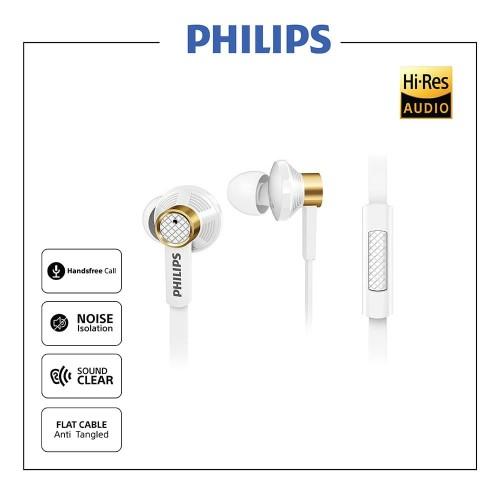 Foto Produk Philips Earphone Fidelio TX2 - Putih dari Philips Audio Official