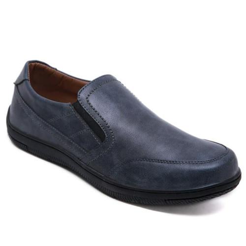 Foto Produk PVN Sepatu Pantofel Formal Import Pria 475 - dblue, 40 dari PVN Official Store