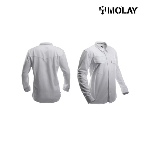 Foto Produk MOLAY ROGUE SHIRT - L, Putih dari Molay
