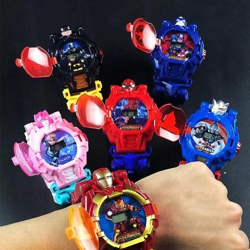 Foto Produk new !! jam tangan anak robot superhero - ultraman dari Metto899