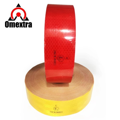 Foto Produk Reflective Sticker Reflektor Stiker Reflector 3M Water Resistant Meter - Kuning dari OMEXTRA
