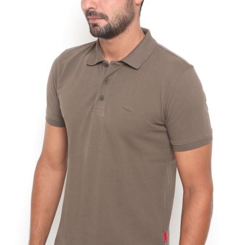 Foto Produk POLICE Kaos Krah Polos Polo Shirt Pria 207200171 - ABU TUA, M dari RBJ Official