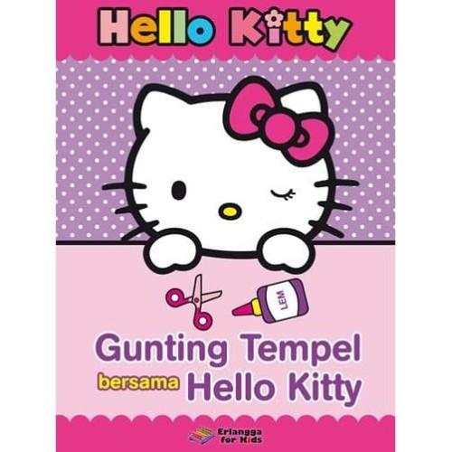 Foto Produk HELLO KITTY: GUNTING & TEMPEL BERSAMA HELLO KITTY dari Penerbit Erlangga